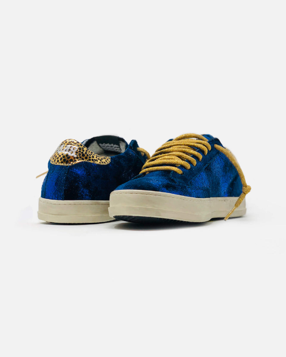 Low Top Blue Velvet