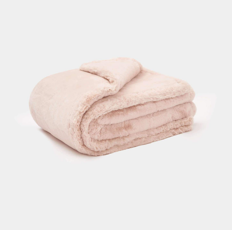Shirley Blanket Blush
