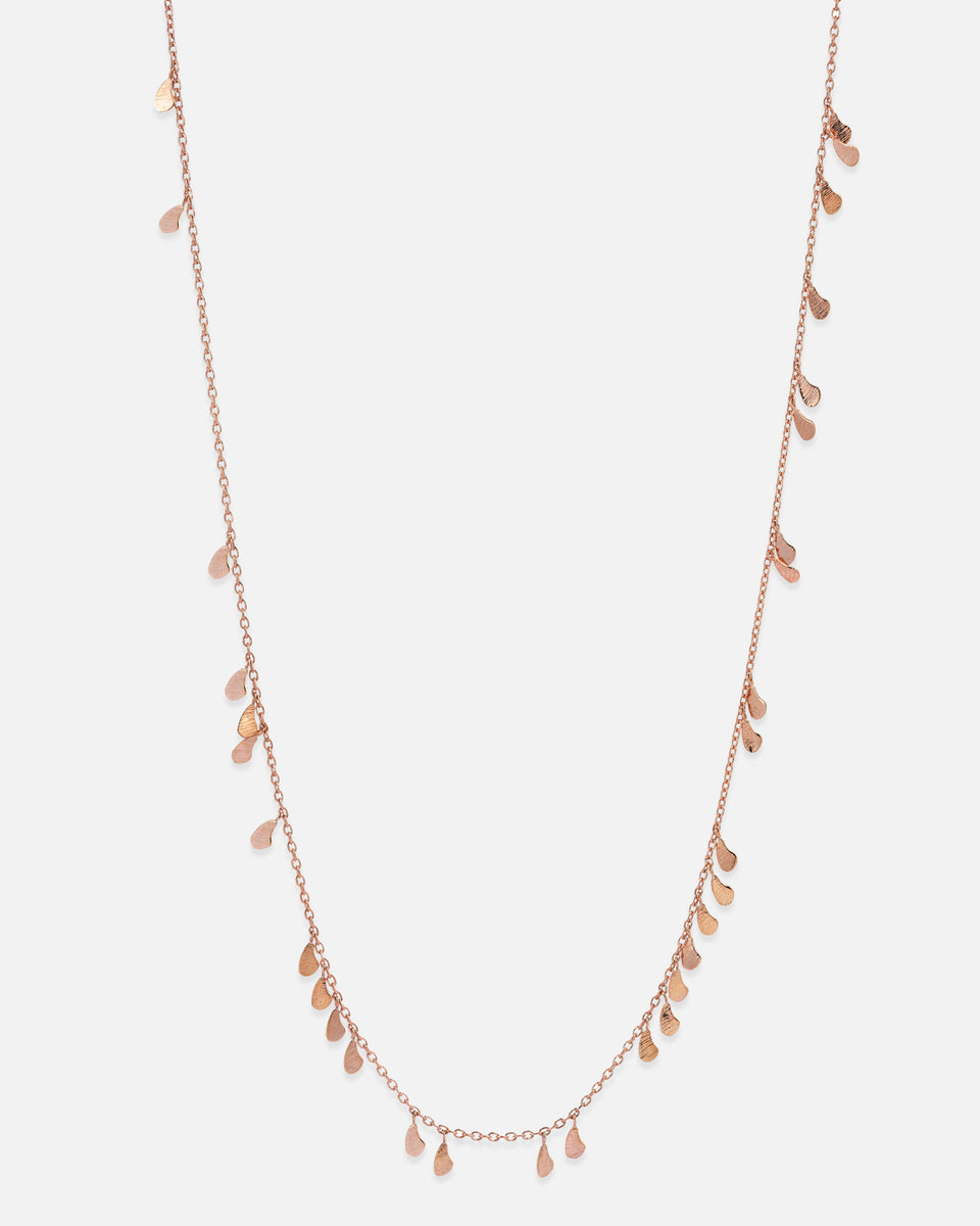 Drop seed Necklace- 60CM