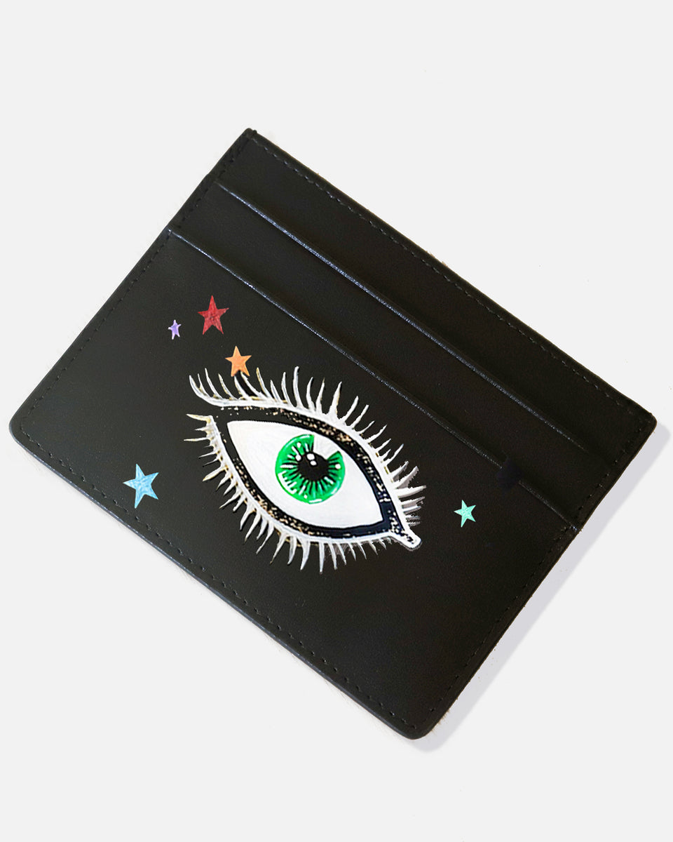 Eyes and Stars Cardholder