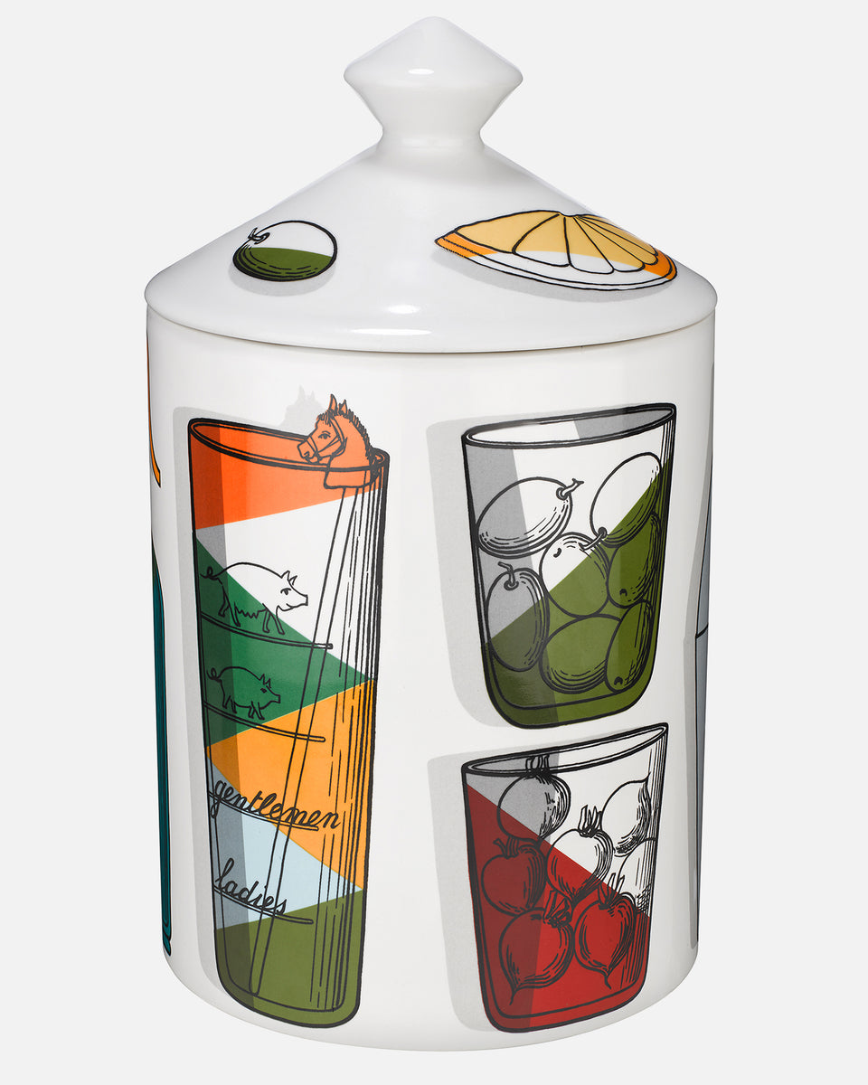Fornasetti Cocktail Candle