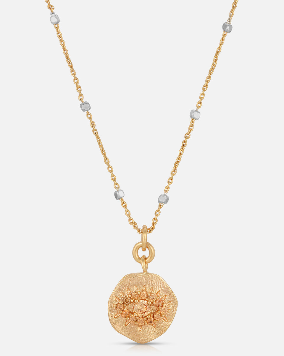 Daydreamer Pendant Necklace in Champagne