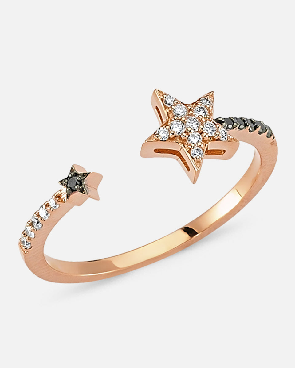 OWN Your Story 14K Gold Open Star Ring