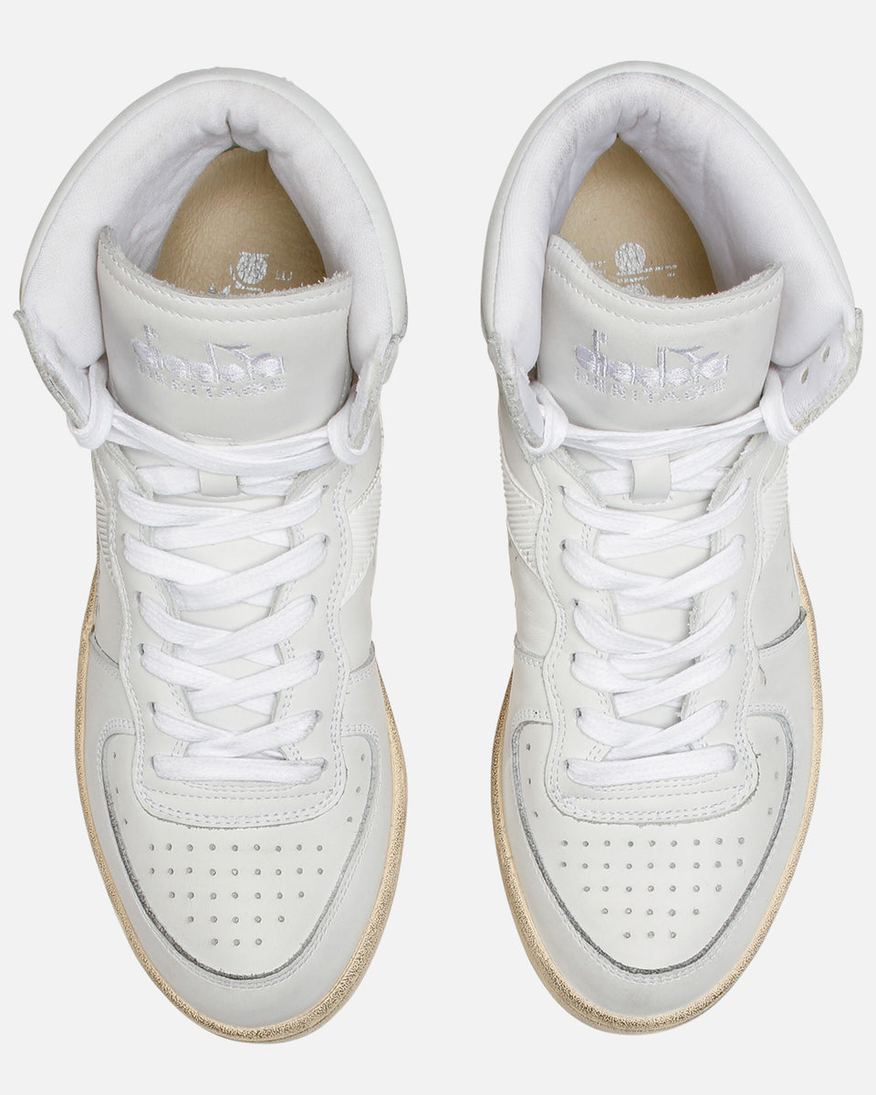 Mi Basket- White Hi-Top