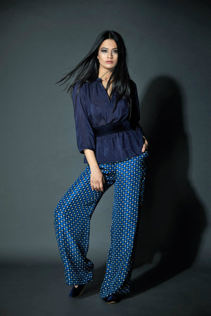 271 TESSA TROUSERS - NightStar Print