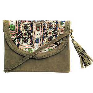 576 ELLA - OLIVE CROSS-BODY BAG