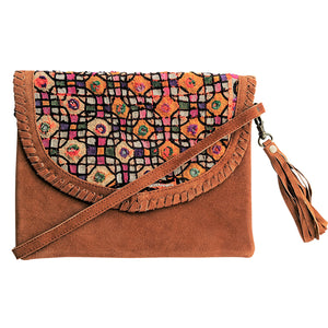 575 ELLA - TAN CROSS-BODY BAG
