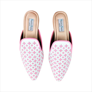 694 LILLY MULES – Soft Pink