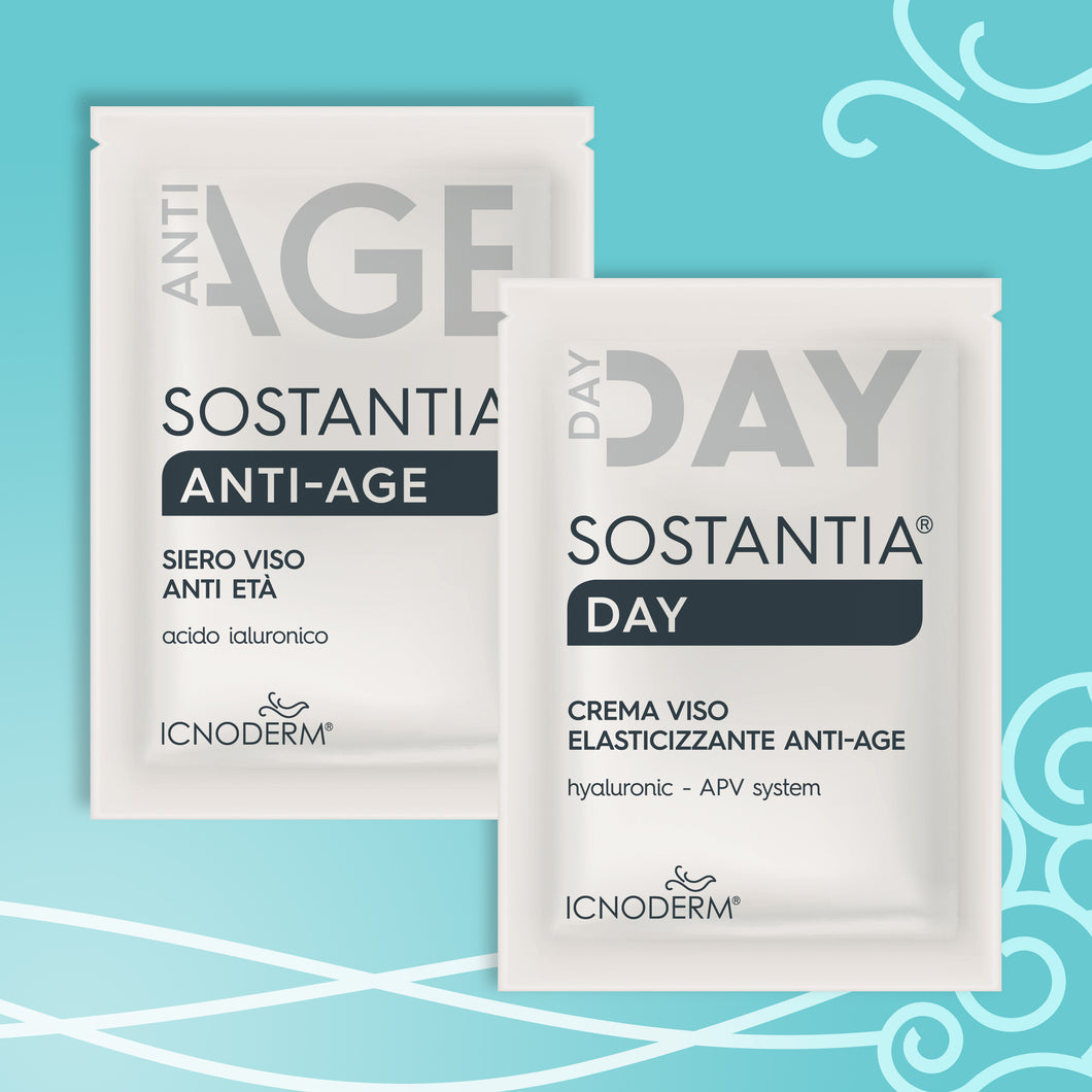 Trial kit - kit prova Sostantia anti-age e day