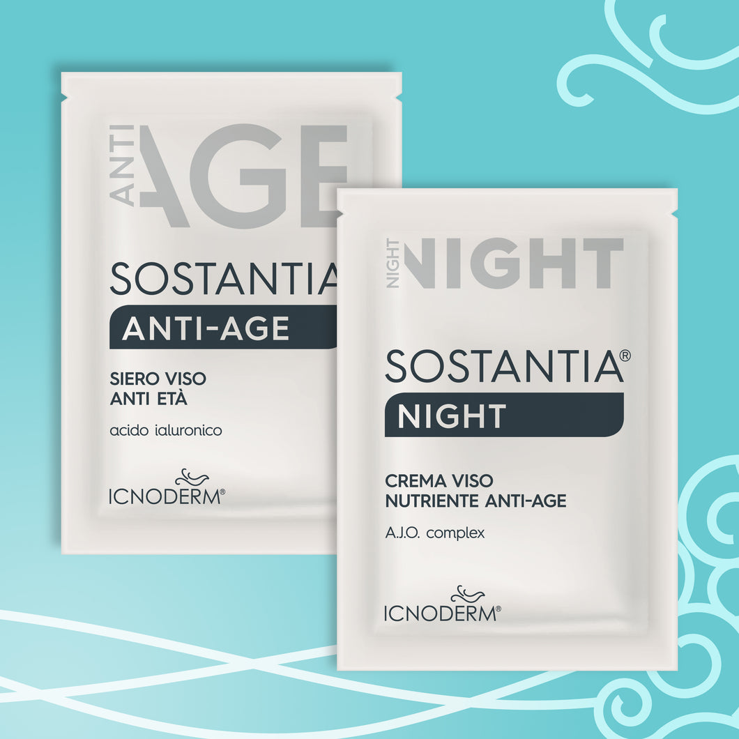 Trial kit - kit prova Sostantia anti age e night