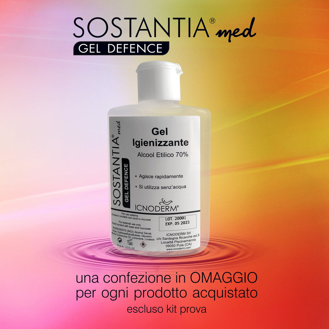 Gel igienizzante - SOSTANTIAmed GEL DEFENCE