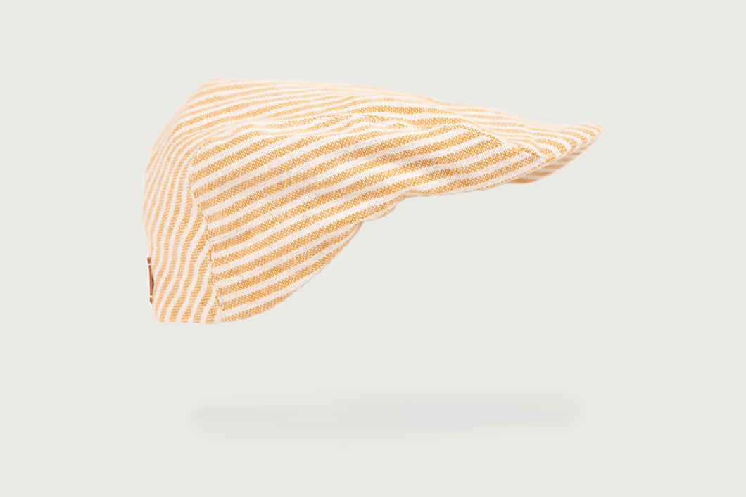 Thin Stripes Flat Cap