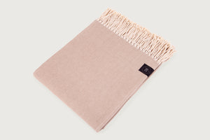 Broken Twill Throw & Blanket — Pure Cotton