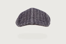 Load image into Gallery viewer, Herringbone Flat Cap — Pure Cotton