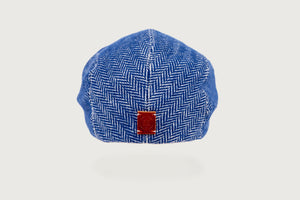 Herringbone Flat Cap — Pure Cotton