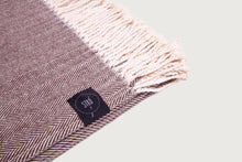 Load image into Gallery viewer, Herringbone Throw & Blanket — Pure Cotton