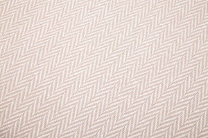 Herringbone Cushion Cover — Pure Cotton