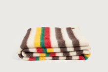 Carregar imagem no visualizador da Galeria, Shepherd Throw - Lobeira Stripes - Pure New Wool