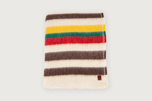 Shepherd Throw - Lobeira Stripes - Pure New Wool