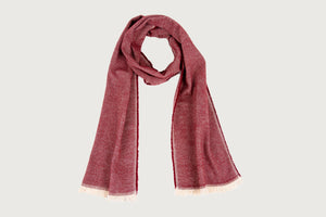 Single Herringbone Scarf — Pure Cotton