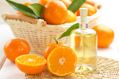 oranges and essential oil
