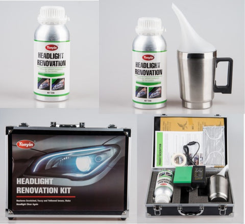 TONYIN Headlight Renovation Kit