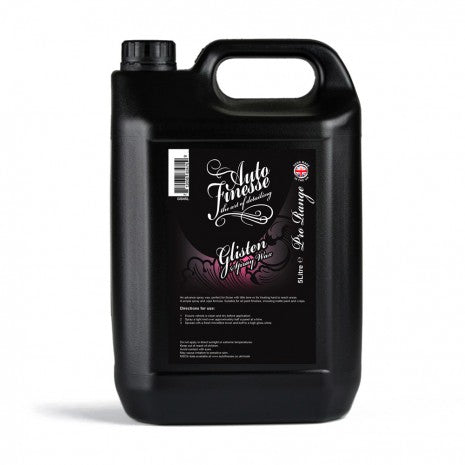 Glisten Spray Wax 5 Litre - Spray Wax