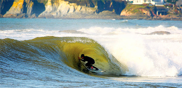 Surfing Devon