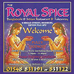 The Royal Gurkha Spice Nepalese and Indian take away Modbury Devon