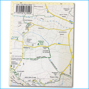 Salcombe and Hope walking and cycling map - Croyde Maps