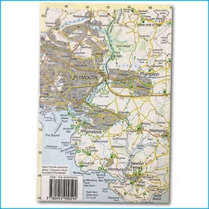South Devon walking and cycling map - Croyde Maps
