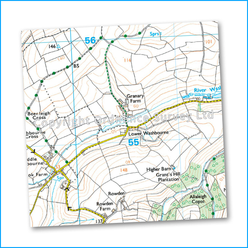 OS Explorer Map OL20 - Brixham to Newton Ferrers