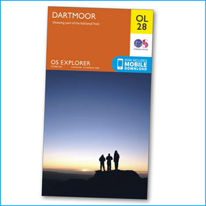 OS Explorer Map OL28 - Dartmoor
