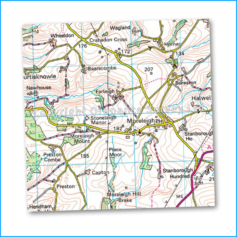 OS Landranger Map 202 - Torbay & South Dartmoor
