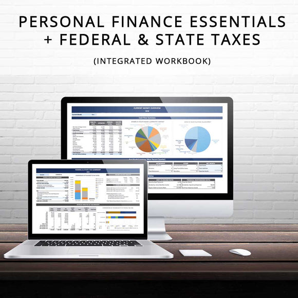 Personal Finance Essentials + Federal & State Taxes (Integrated)