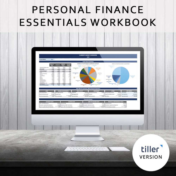 Personal Finance Essentials (Tiller-Based)