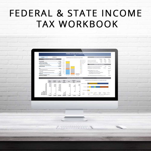 2019 Federal & State Income Tax Workbook