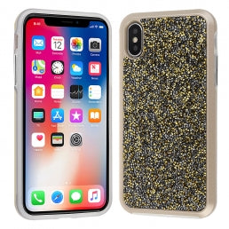 Crystal Studded 2 Piece Cover Case iPhone XS MAX