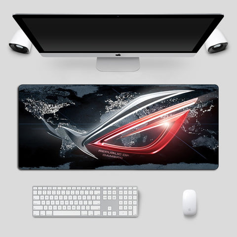 Large Mousepad ASUS Non-Skid Rubber Republic Of Gamers Gaming Mouse pad Laptop Notebook Desk Mat For CSGO Dota Keyboard Pad - 24SevenDeals