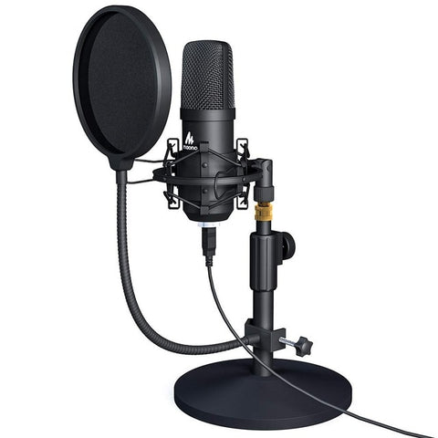MAONO A04TC USB Microphone Kit 192KHZ/24BIT Professional Condenser Microfono Podcast Streaming Mic for YouTube Gaming Recording - 24SevenDeals