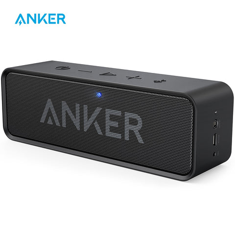 Anker Soundcore Portable Wireless Bluetooth Speaker with Dual-Driver Rich Bass 24h Playtime 66 ft Bluetooth Range & Built-in Mic - 24SevenDeals