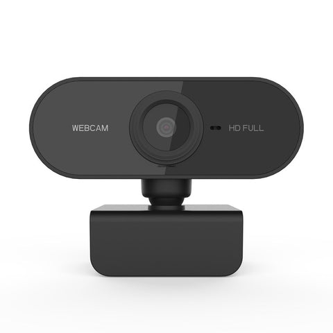 HD 1080P Webcam Mini Computer PC WebCamera with Microphone Rotatable Cameras for Live Broadcast Video Calling Conference Work - 24SevenDeals