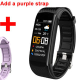 Smart Bracelet Watch Blood Pressure Monitor  Fitness Tracker Bracelet Smart Watch Heart Rate Monitor Smart Band Watch Men Women - 24SevenDeals