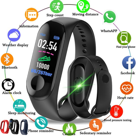 2020 Smart Watches Waterproof Sports For Apple Android Smartwatch Heart Rate Monitor Blood Pressure Functions For Men Women Kids - 24SevenDeals