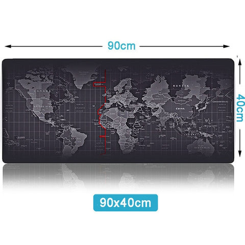 ZUOYA Hot Sell Extra Large Mouse Pad Old World Map Gaming Mousepad Anti-slip Natural Rubber with Locking Edge Gaming Mouse Mat - 24SevenDeals