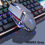 ZUOYA Professional gamer Gaming Mouse 8D 3200DPI Adjustable Wired Optical LED Computer Mice USB Cable Mouse for laptop PC - 24SevenDeals