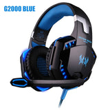 Headset over-ear Wired Game Earphones Gaming Headphones Deep bass Stereo Casque with Microphone for PS4 new xbox PC Laptop gamer - 24SevenDeals