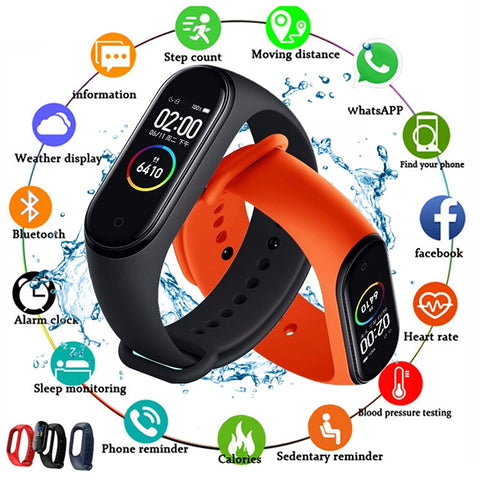 2020 Smart Watch Sport Smart Band Blood Pressure Monitor Smart Watches Smartwatch Bracelet Wristband For Apple Android Men Women - 24SevenDeals