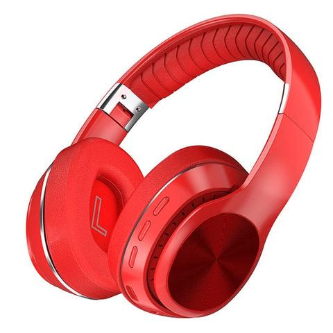HiFi Wireless Headphones Bluetooth Foldable Headset Support TF Card/FM Radio/Bluetooth AUX Stereo Headset With Mic Deep Bass - 24SevenDeals