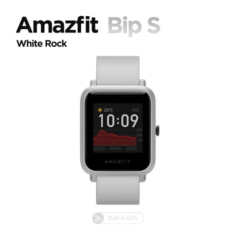 In Stock 2020 Global Amazfit Bip S Smartwatch 5ATM waterproof built in GPS GLONASS Bluetooth Smart Watch for Android iOS Phone - 24SevenDeals